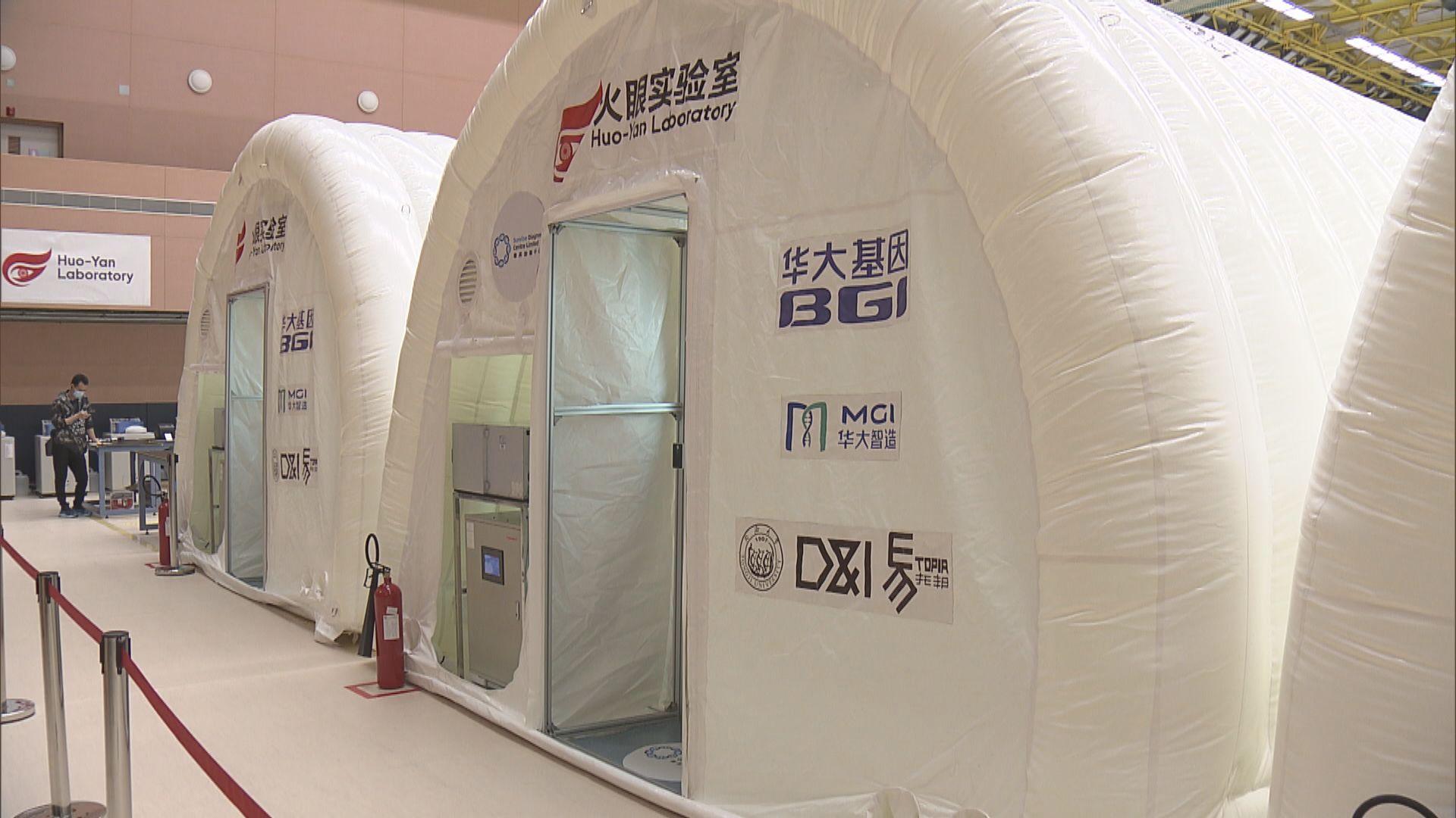 華昇:每個樣本檢測成本低於一千元 費用由中央支付