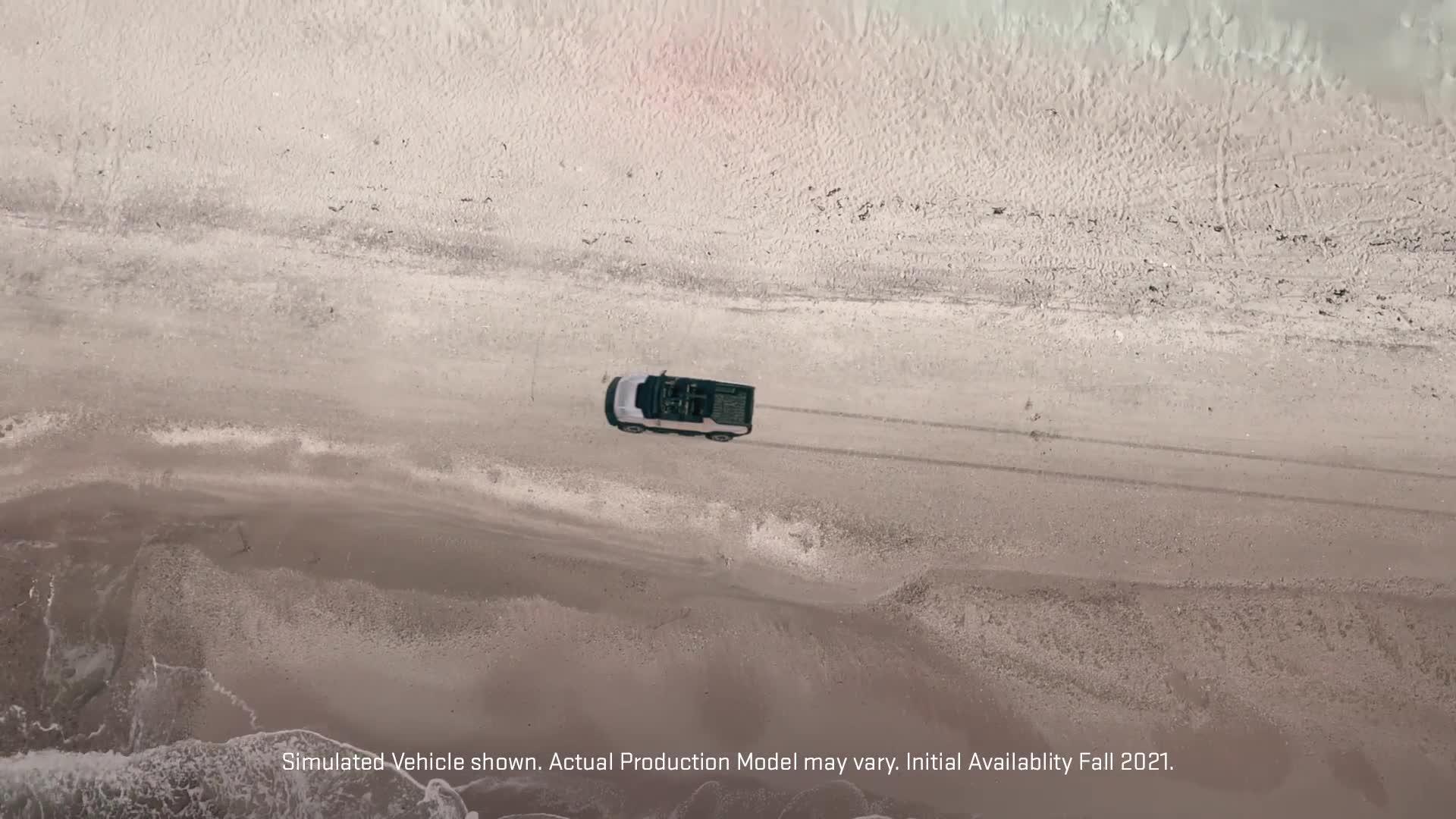 GMC Hummer EV reveal date teaser   Autoblog