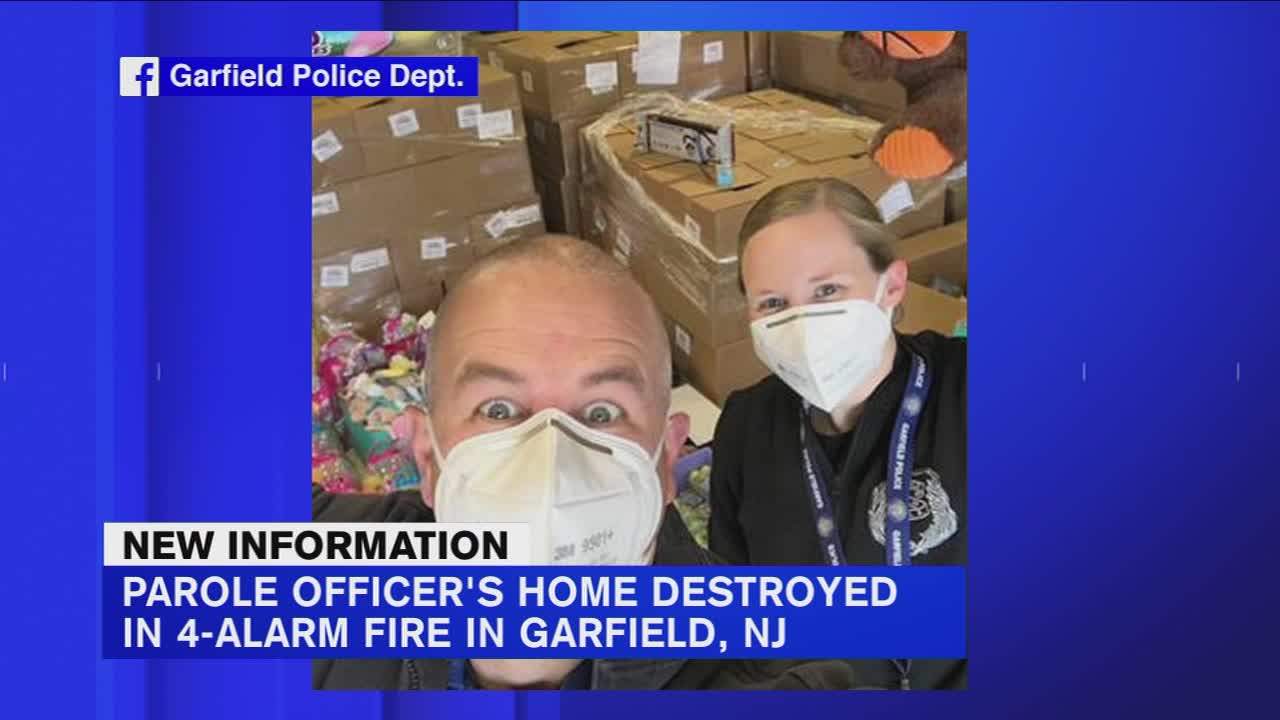 Donations Sought For New Jersey Police Officer Who Lost Home In Fire Video