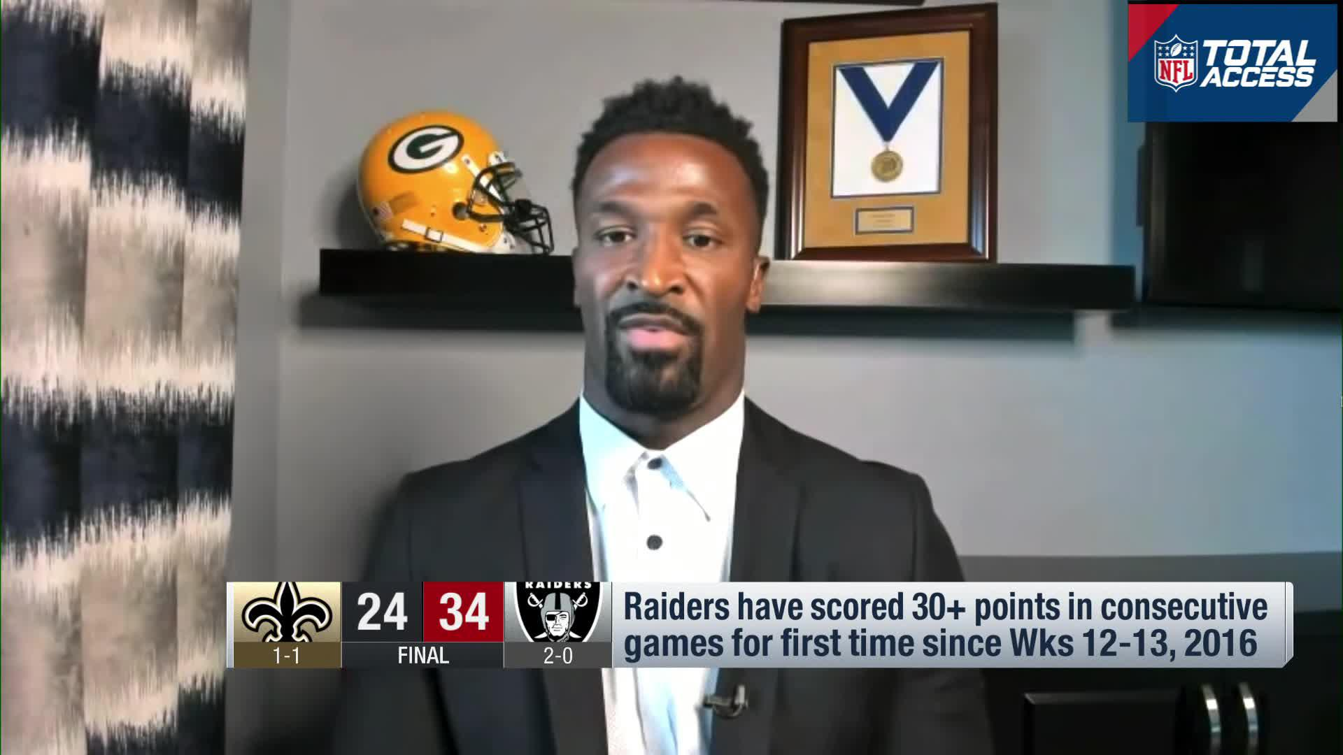 James Jones Raiders Offense A Well Oiled Machine That Must Be Reckoned With