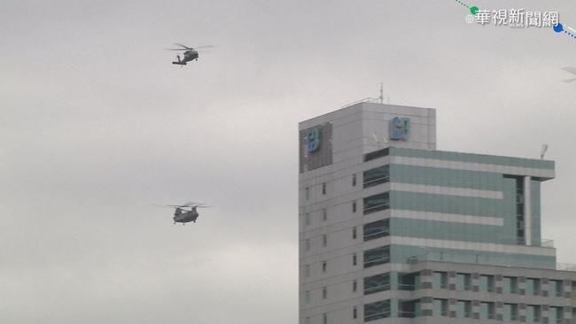 戰機通過北市 慶籌會:國軍預演別擔心