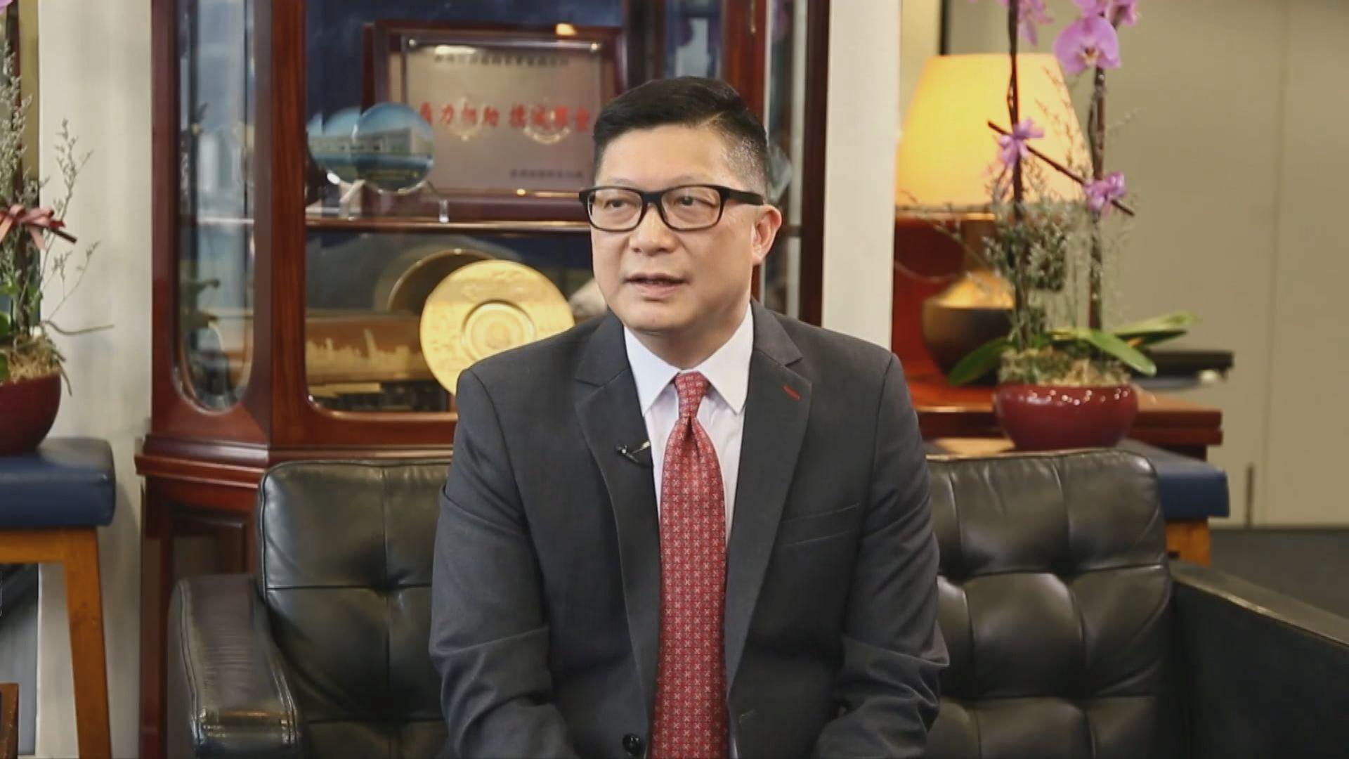 鄧炳強:相信修訂傳媒代表定義不會影響採訪