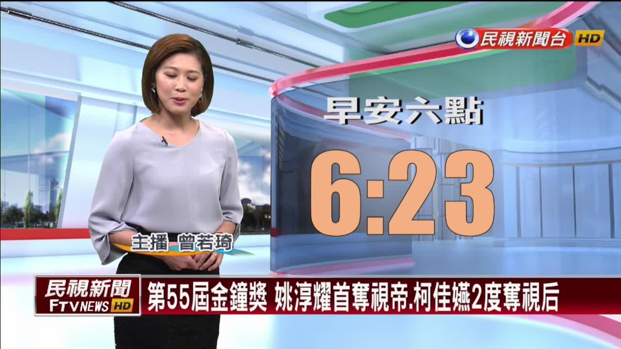 第55屆金鐘獎 姚淳耀首奪視帝、柯佳嬿2度奪視后