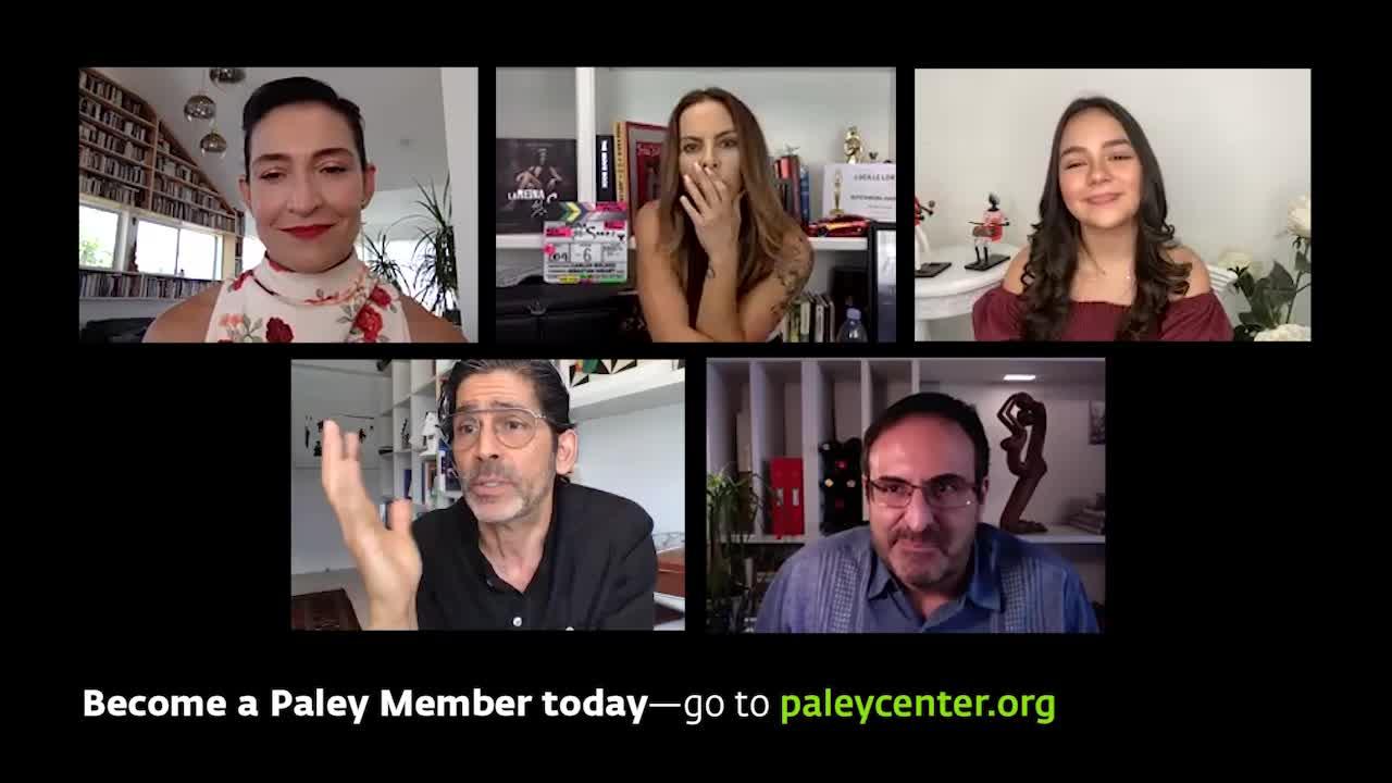 Hispanic Heritage Month: Telemundos La Reina del Sur: A Conversation with the Stars at Paley Front Row 2020