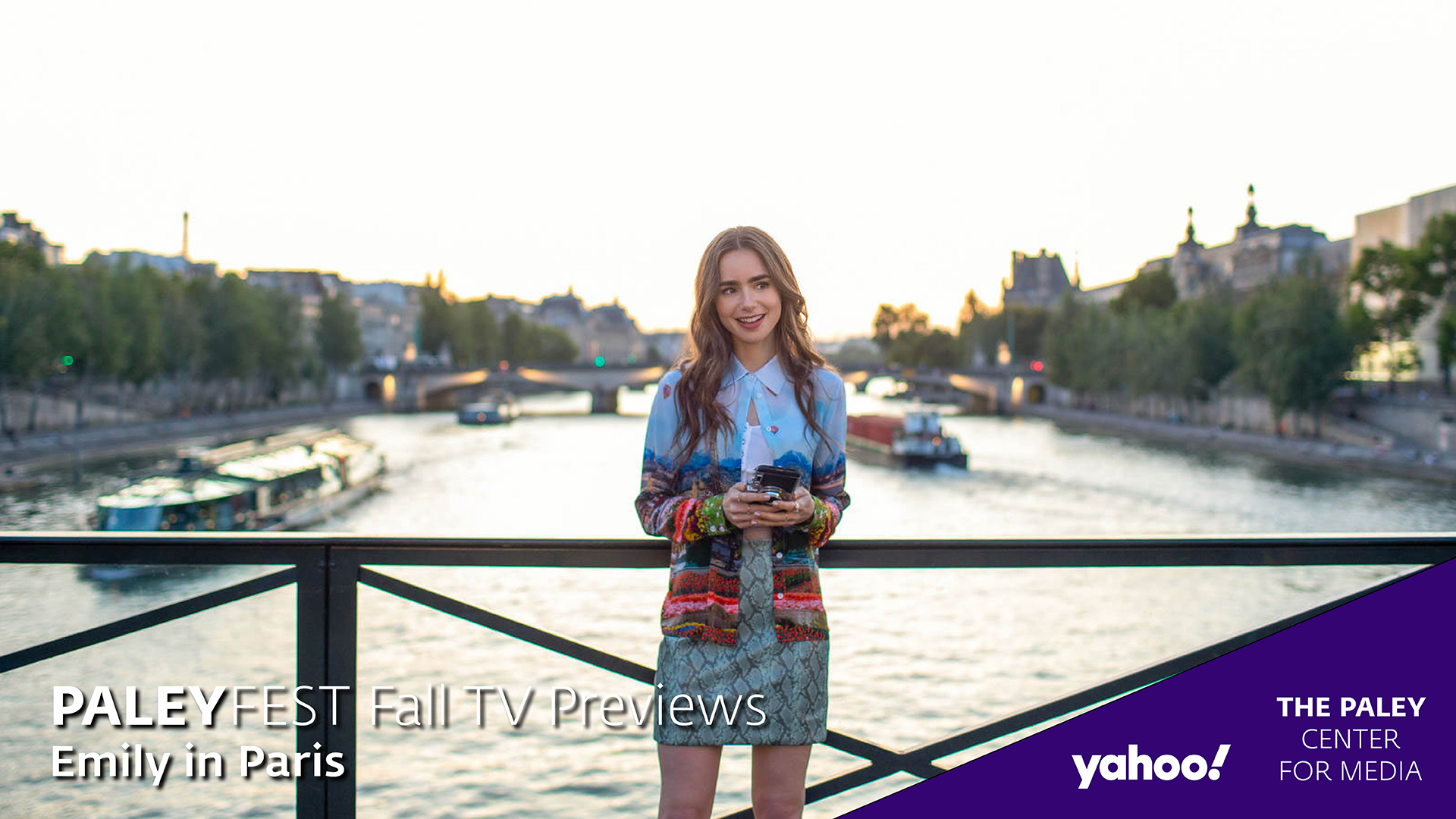 Emily in Paris at PaleyFest Fall TV Previews 2020