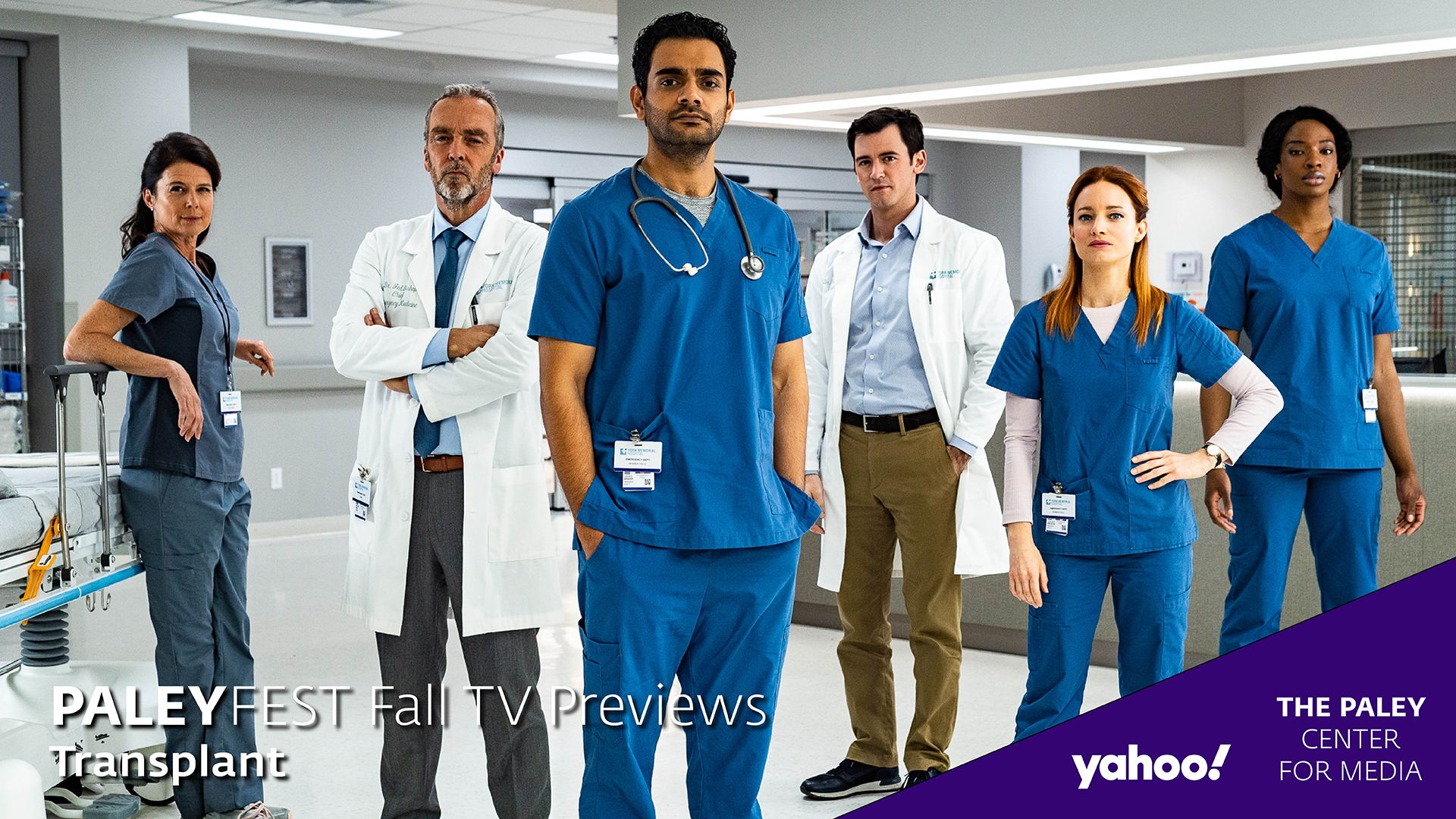 Transplant at PaleyFest Fall TV Previews 2020
