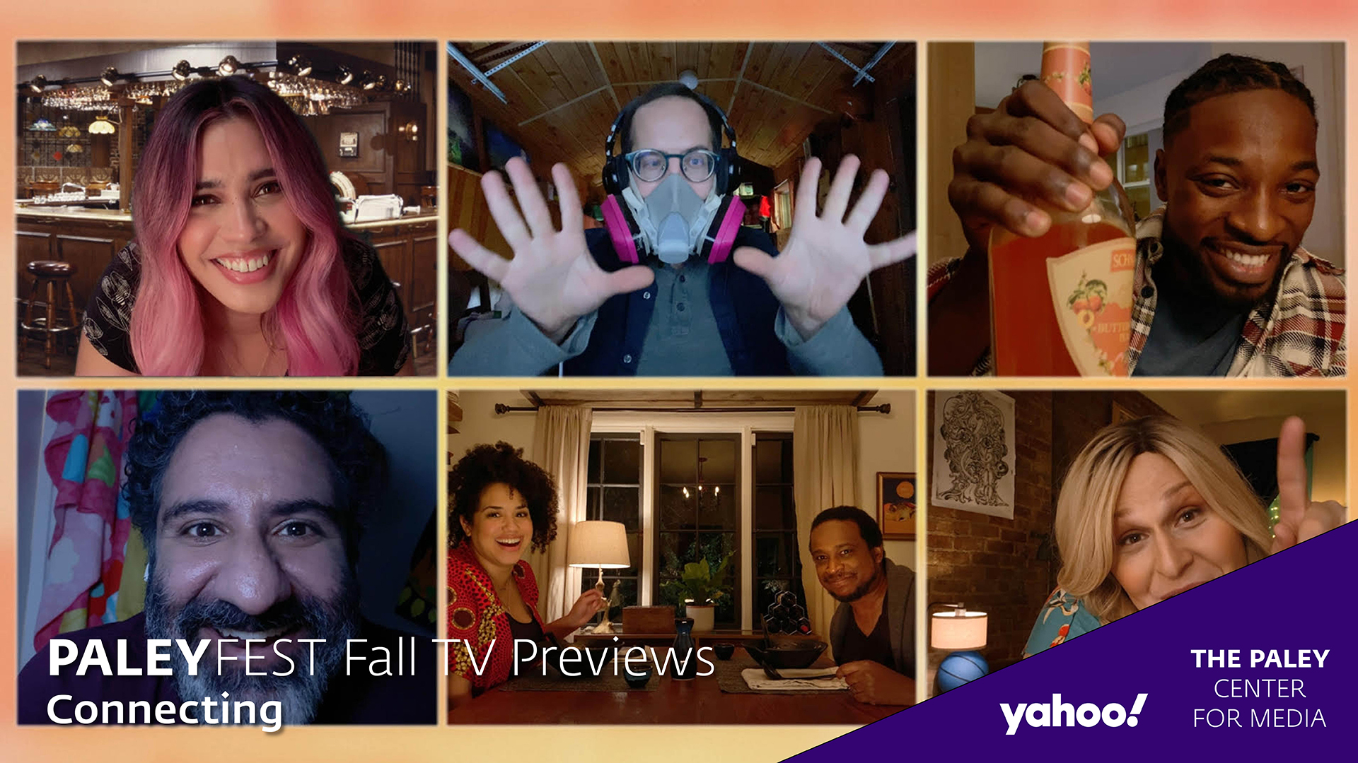 Connecting... at PaleyFest Fall TV Previews 2020