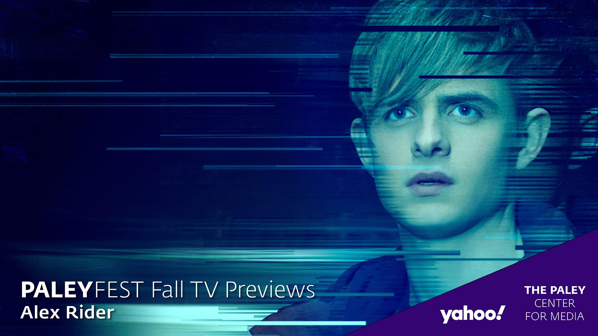 Alex Rider at PaleyFest Fall TV Previews 2020