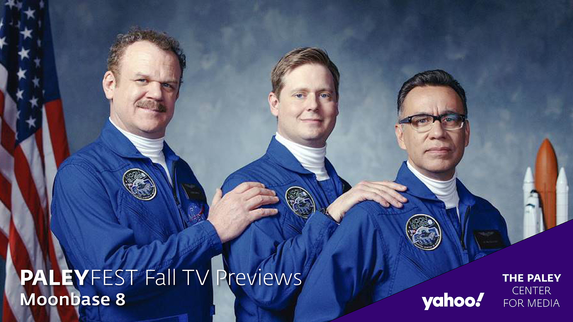 Moonbase 8 at PaleyFest Fall TV Previews 2020