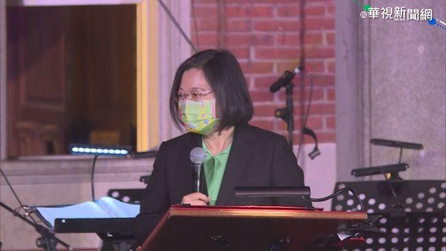 總統台南追思李登輝 籲台灣人要團結
