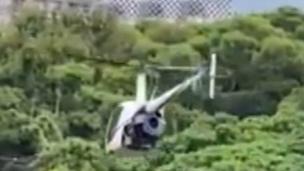 直升機駕駛抓到了! 違反民航法50萬交保