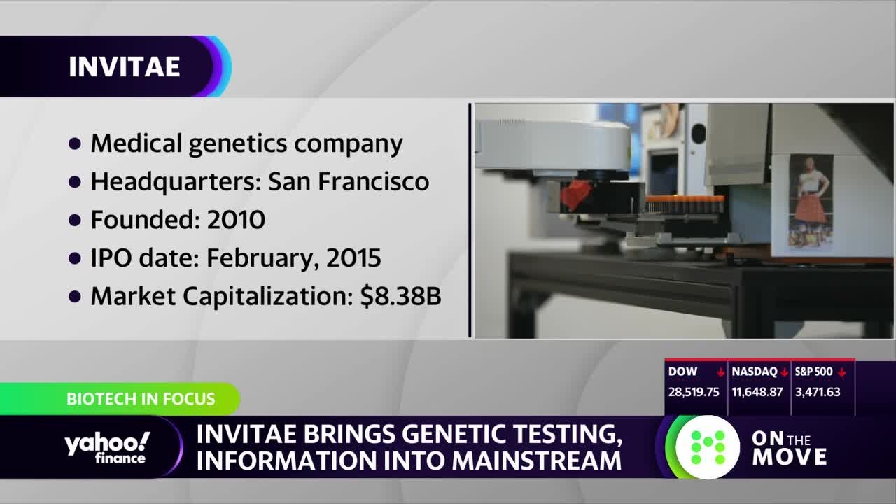 Invitae CEO on how COVID-19 testing could have a positive impact on the future of genetics testing