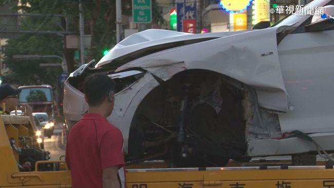 煞車失靈? 台中電動公車追撞8車釀5傷