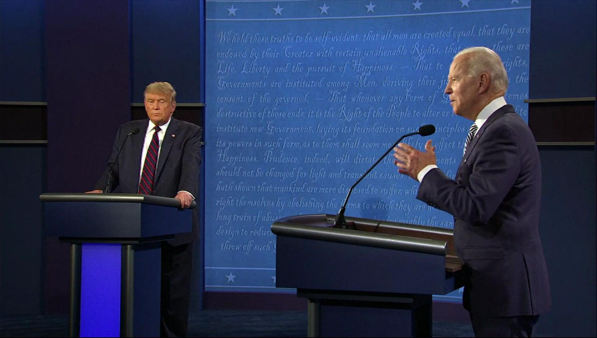 美選最終辯論加「消音」規則 防「插嘴」混亂局面!