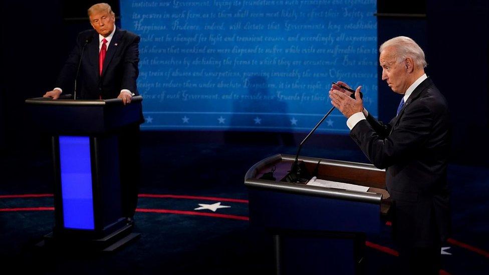 美國大選:特朗普與拜登辯論,就中國議題針鋒相對
