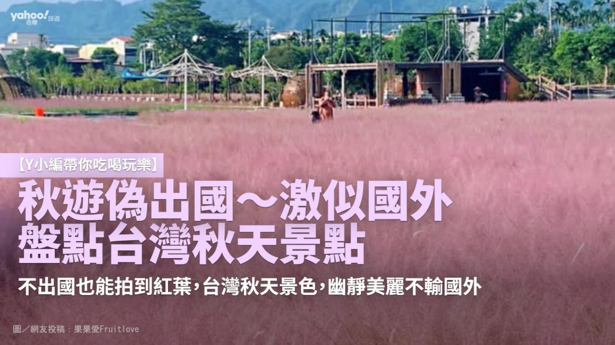 【Y小編帶你吃喝玩樂】秋遊偽出國 激似國外 盤點台灣秋天景點