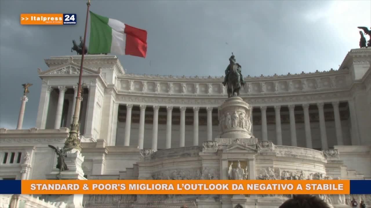 S P Migliora L Outlook Dell Italia Da Negativo A Stabile