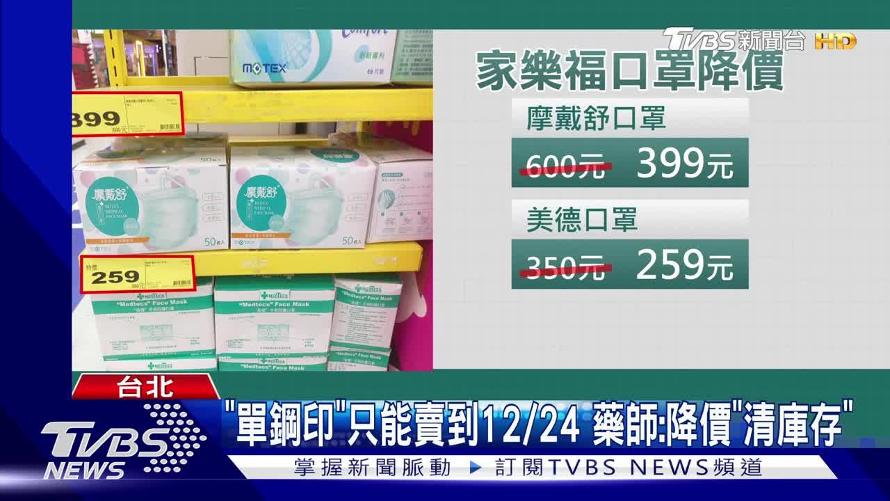大降價! 藥局醫口罩賣210元 比實名制便宜