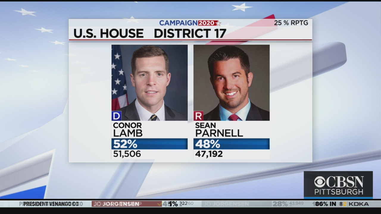 Conor Lamb And Sean Parnell In Tight Race