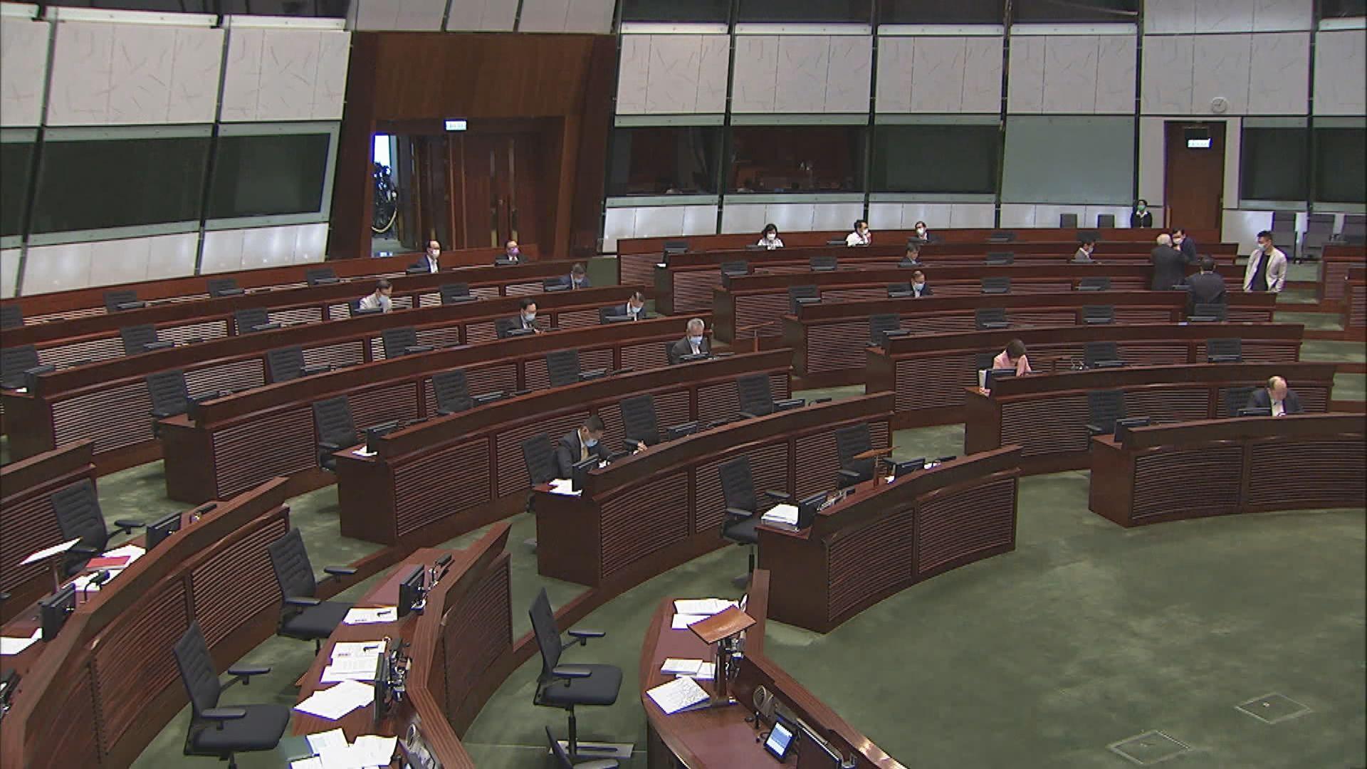 立法會近半時間點人數 梁君彥決定劃線審議