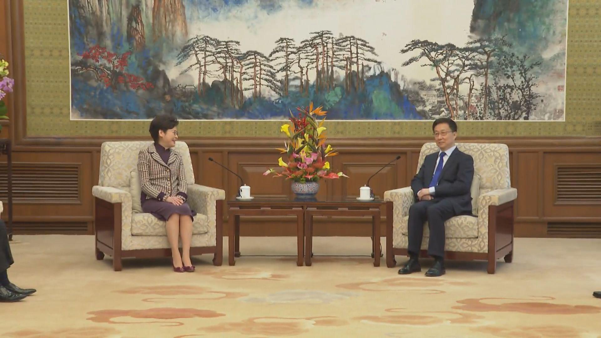韓正:凡有利香港融入國家發展的工作 中央都全力支持