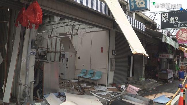 台南自助洗衣店氣爆起火 4顧客燒傷