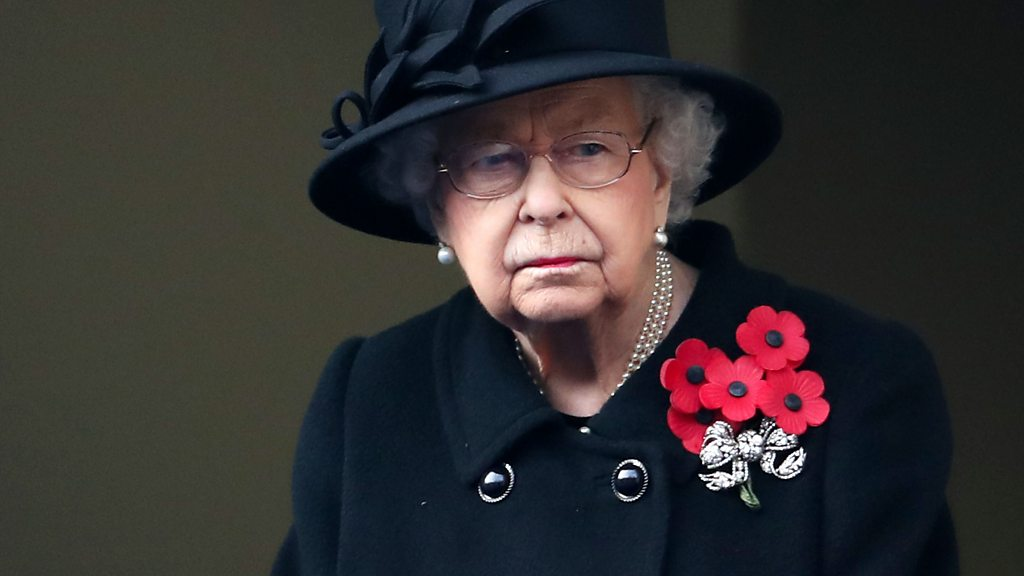 英國王室成員新冠疫情下出席和平紀念日儀式