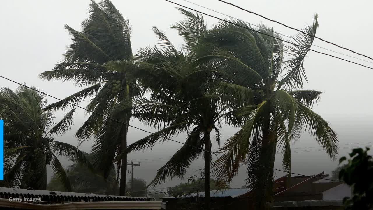 Eta hits the Florida Keys and is expected to become hurricane