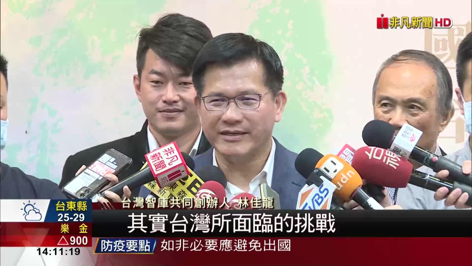 威權台灣走向民主 林佳龍談李登輝學