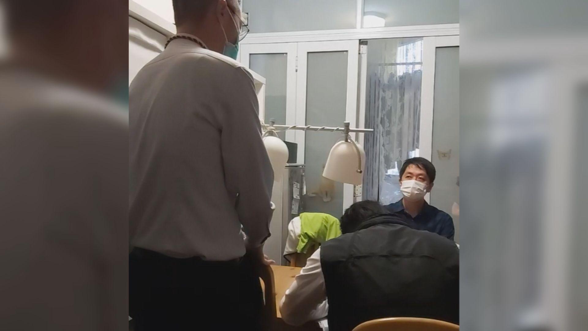 朱凱廸、陳志全及許智峯擲臭水被捕 涉違特權法及侵害人身罪