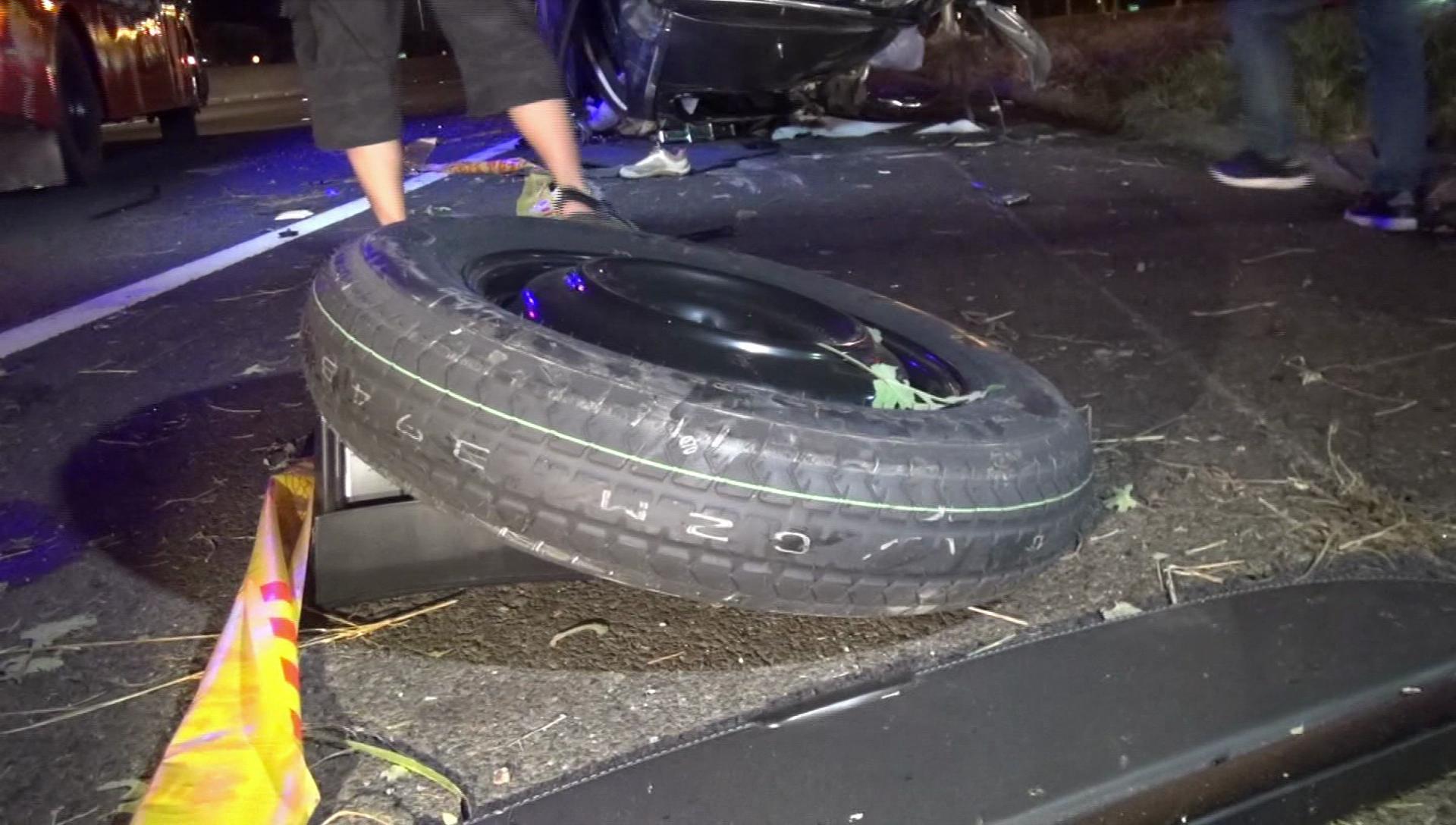 國道再傳奪命車禍!休旅車超載撞邊坡 6人甩出4死2傷
