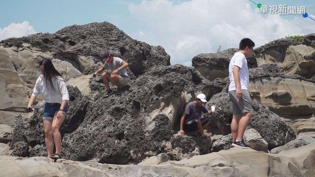 台東小野柳 劃設為富岡地質公園