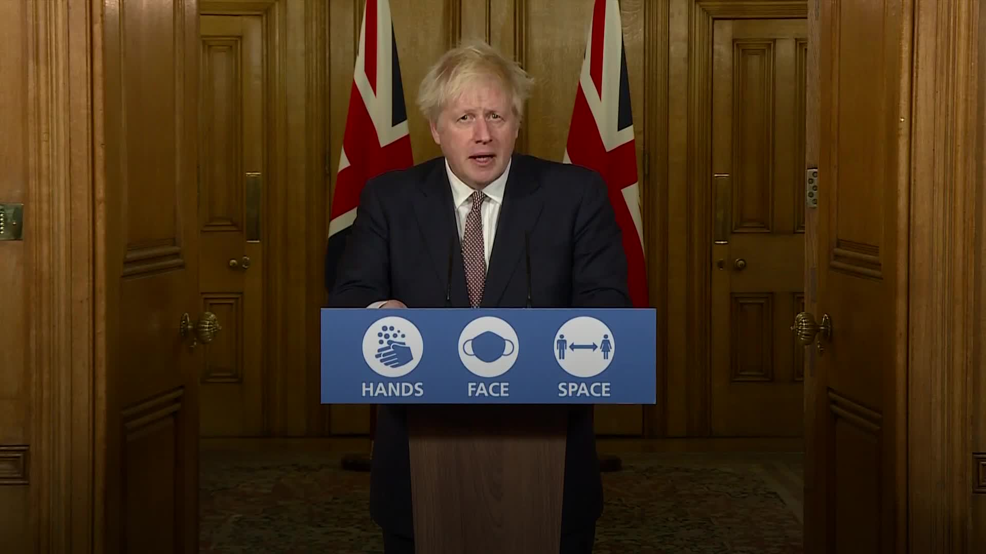 uk.news.yahoo.com: Boris Johnson: If we ease off now we risking losing control of this virus