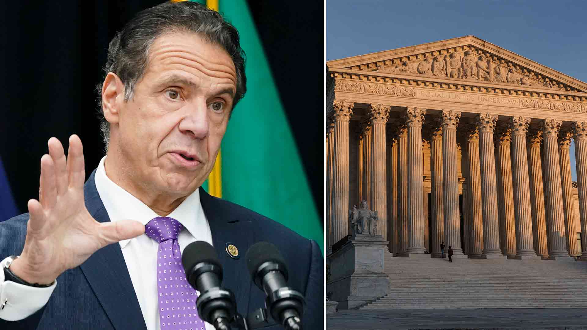 Gov. Andrew Cuomo calls Supreme Court ruling against NY COVID restrictions on houses of worship 'irrelevant'