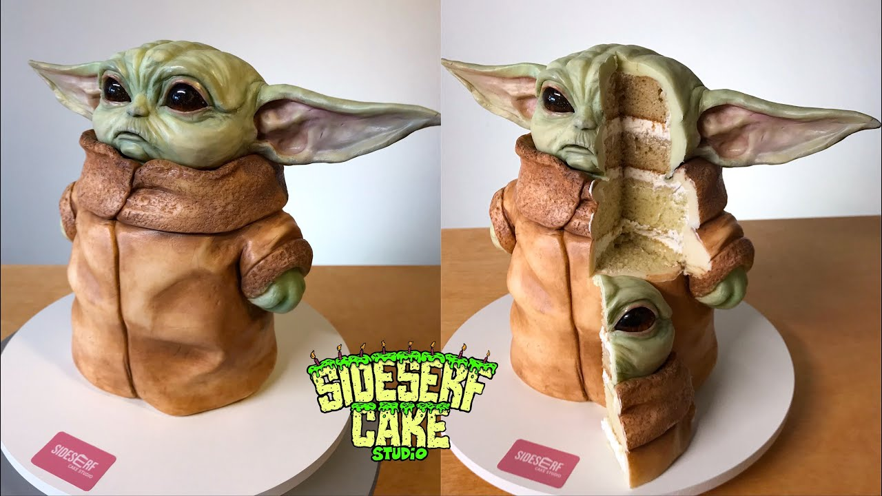 How To Make A Totally Realistic Baby Yoda Cake Liste de souhaits de eat hot chip and lie. how to make a totally realistic baby yoda cake