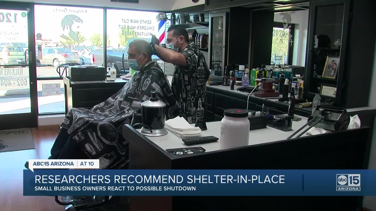 news.yahoo.com: Small business owners react to a potential three-week shelter-in-place in Arizona