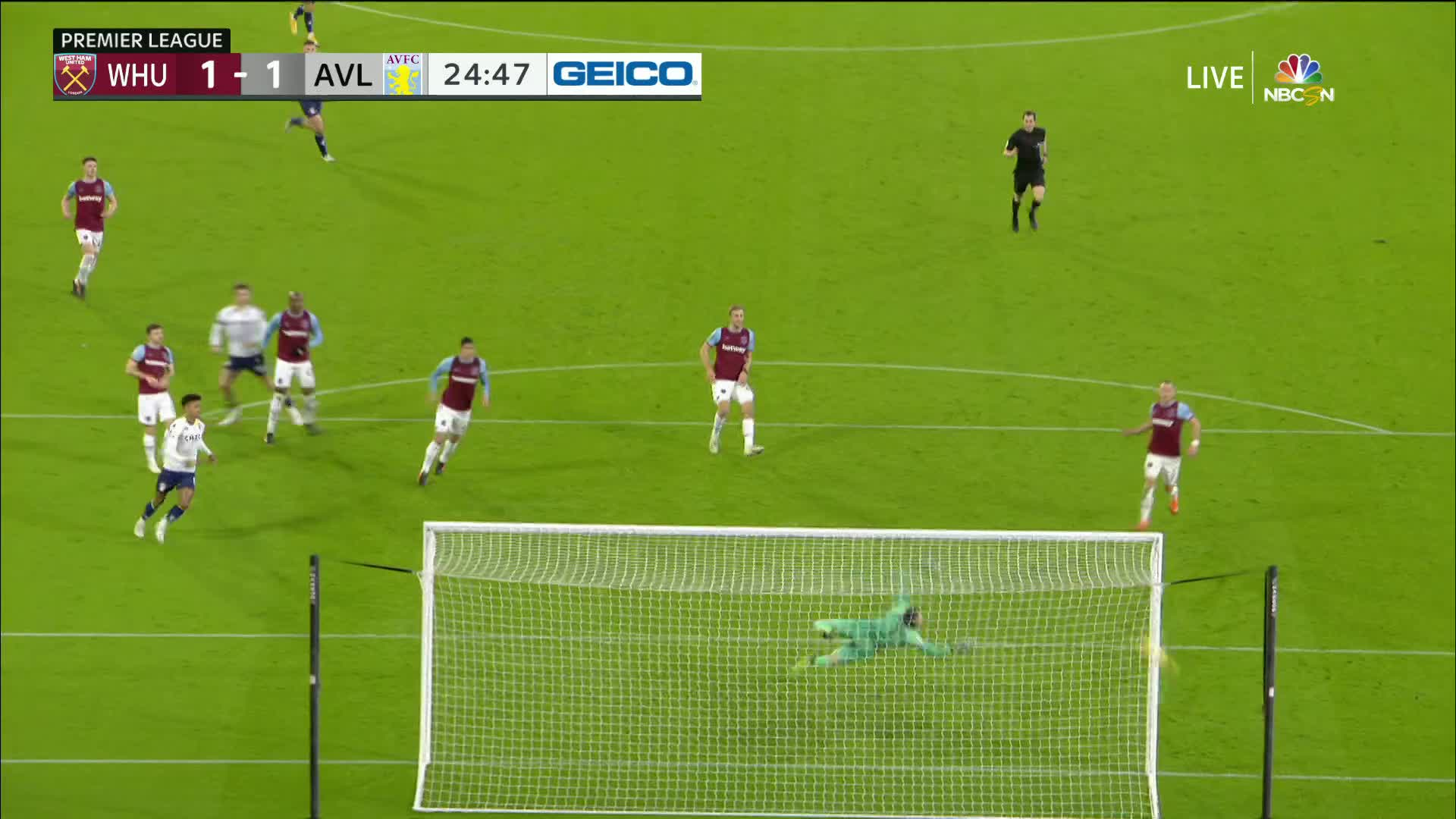 Grealish gets Aston Villa even against West Ham