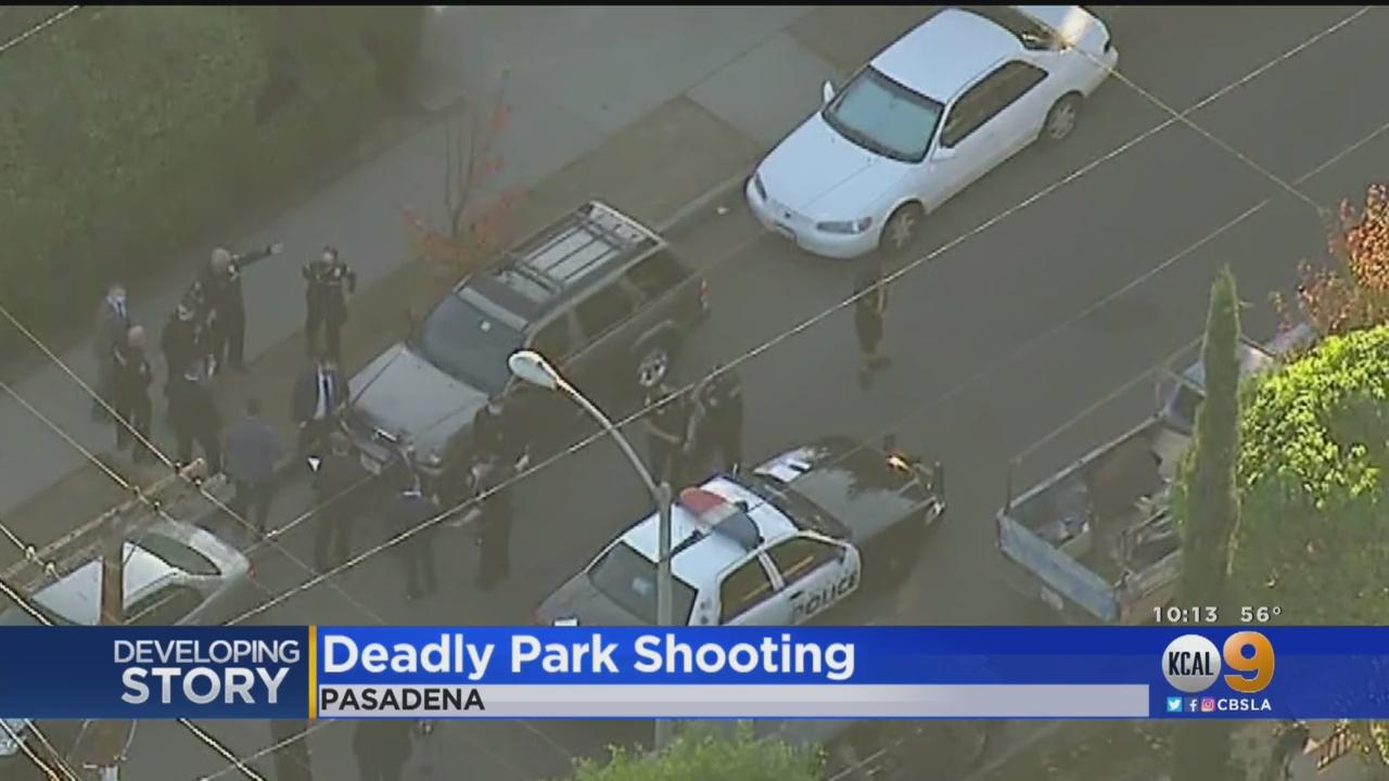 Shooting Incident At Pasadena Park
