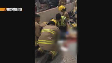 周梓樂死因研訊 閉路電視拍到有人在停車場從高處墮下