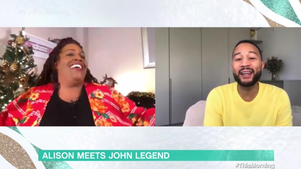 Alison Hammond shows off her singing skills in a DUET with John Legend