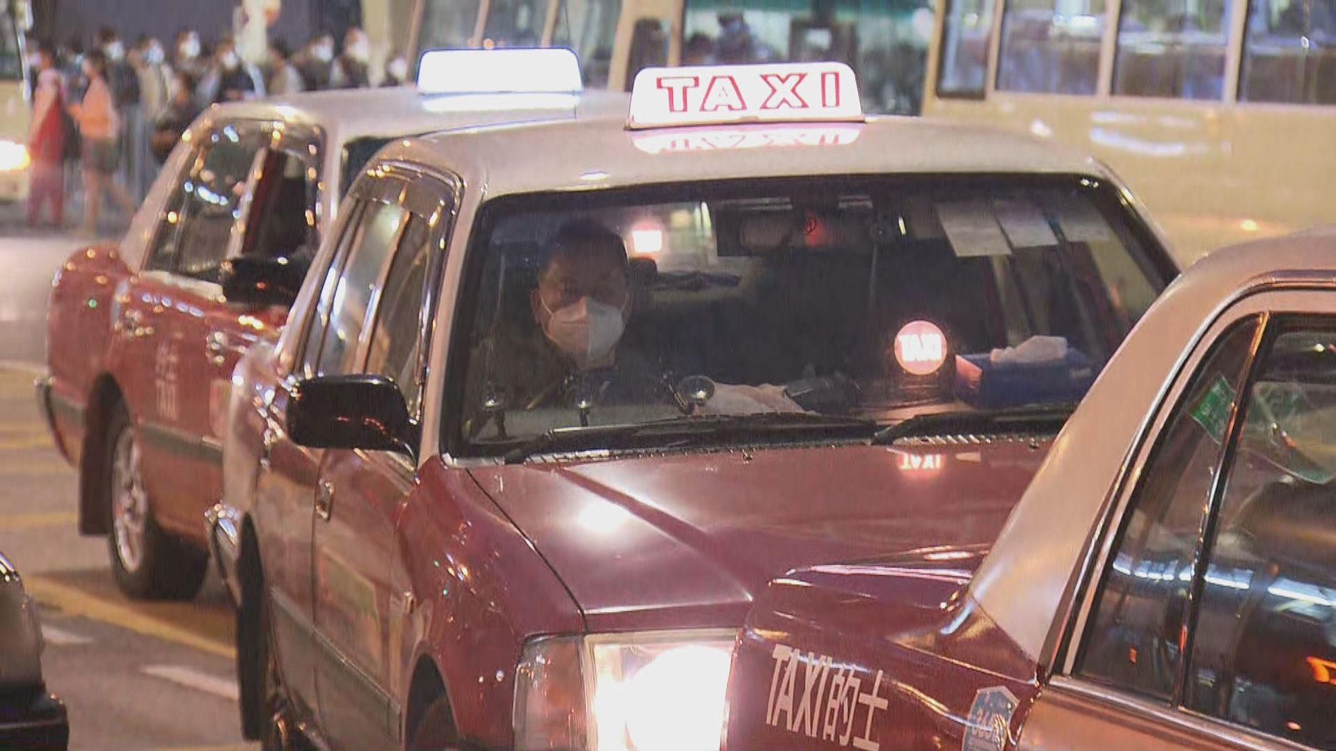 的士司機強制檢測 有司機質疑強制檢測的作用不大