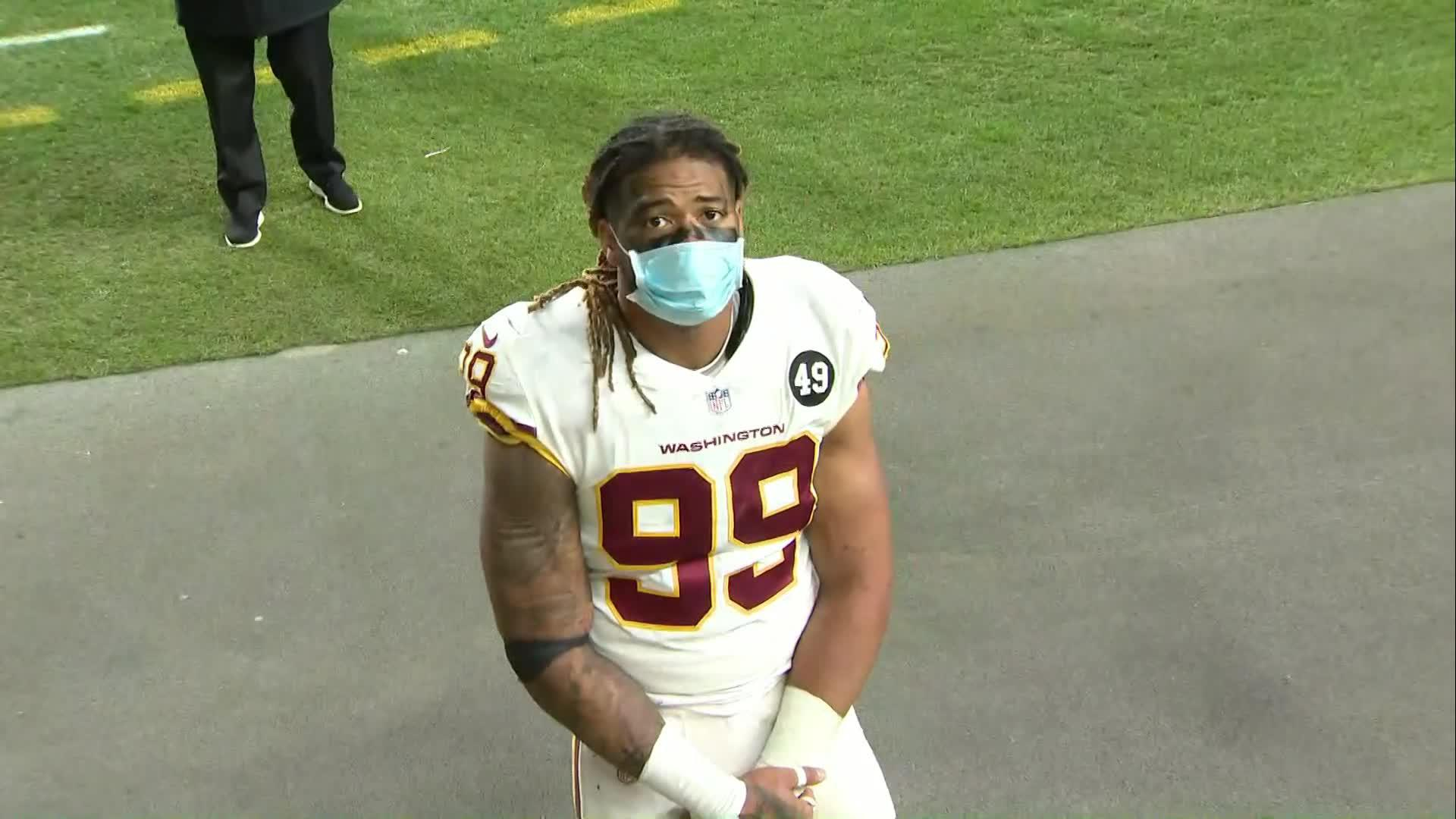 Chase Young Steelers Were Exposed A Little Bit Entering Game Vs Washington