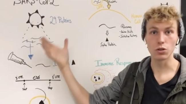 Cornell PhD Candidate Explains How Coronavirus mRNA ...