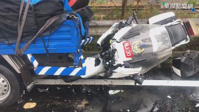 天雨路滑 南投水里2小時5車禍9人傷