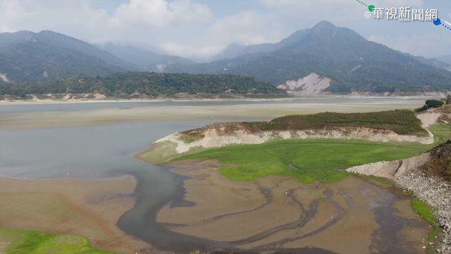 蓄水率僅22.44% 曾文水庫宛如大草原