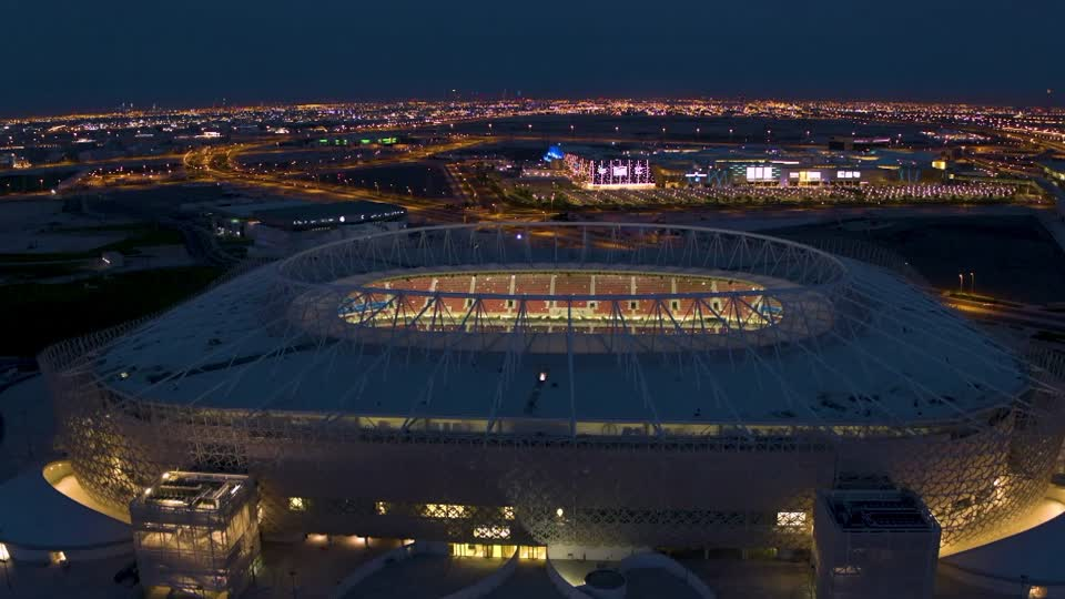 Qatar unveils new World Cup stadium