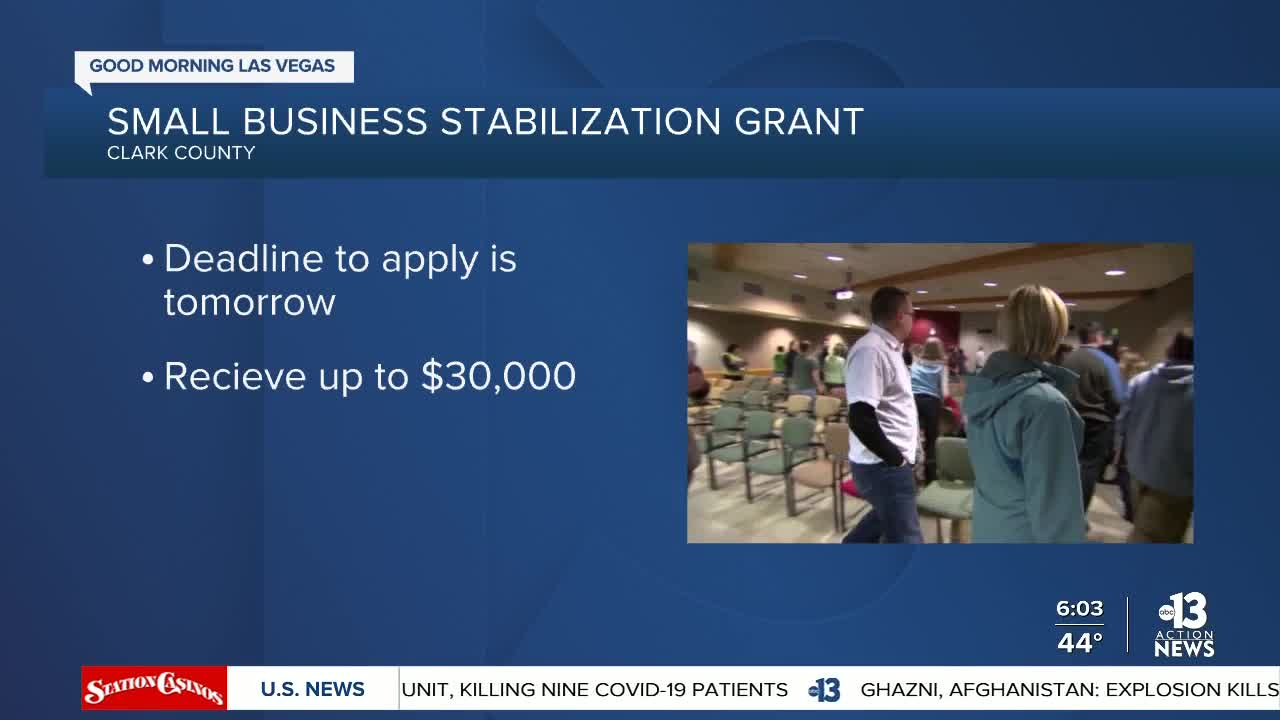 news.yahoo.com: Applying for the Small Business Stabilization Grant