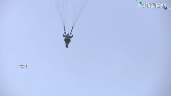 疑快速解脫器異常 國軍跳傘險墜地