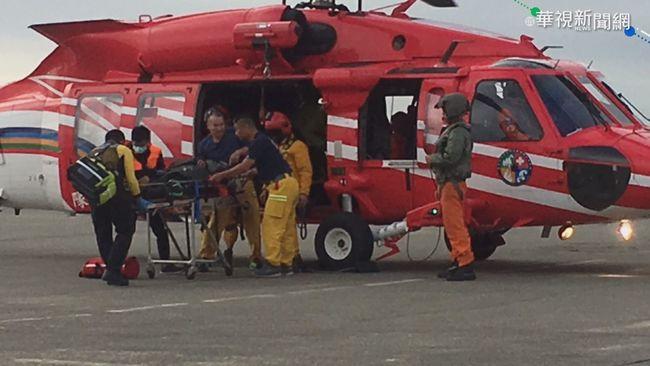 「塔芬谷山屋」2人待救 黑鷹直升機馳援