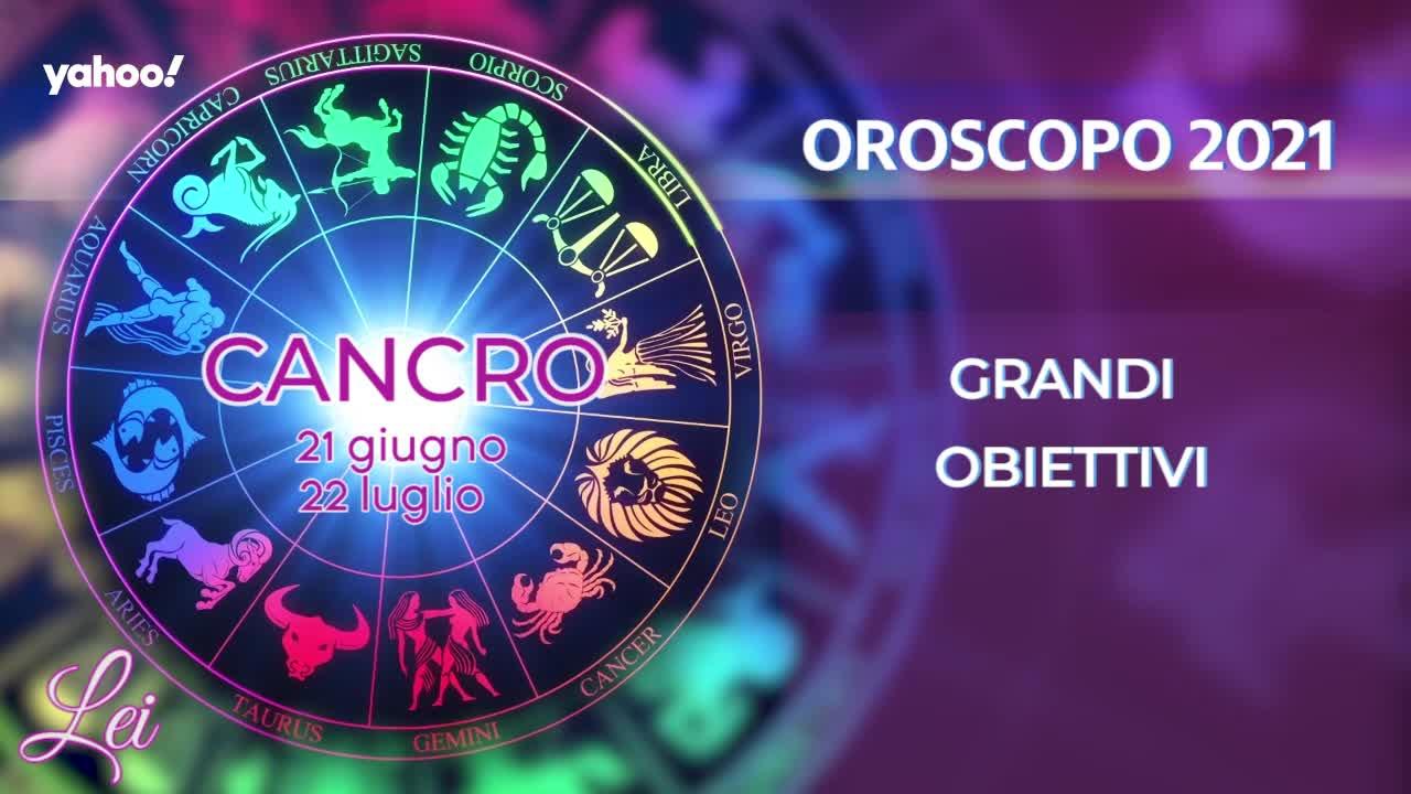 Oroscopo 2021 LEI: Cancro